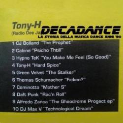 Tony H , TuttoDance luglio 1997