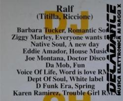 Ralf, Disco Mix, febbraio 1998